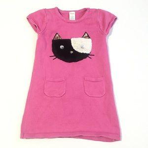 Gymboree Kitty Sweater Dress Sz 5